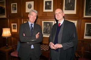 Jeremy Paxman with Professor Nigel Bigger